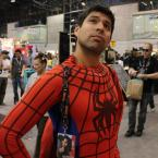 Me as Spidey – NYCC 2012