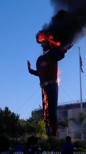 Big Tex Burns