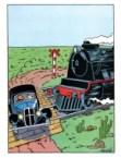tin tin takes a train to the face
