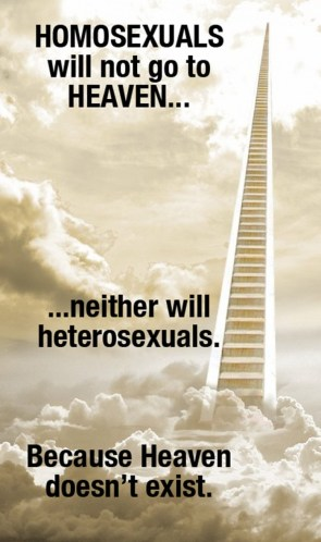 Homosexuals Will Not Go To Heaven