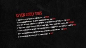 Seven Godly Sins