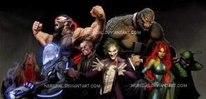 Awesome Batman artwork