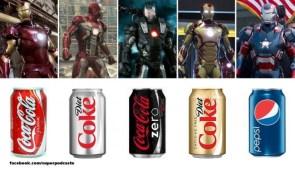 Rhodey likes Pepsi