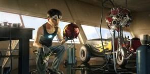 Iron Man Pixar