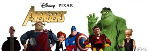 Avengers Pixar
