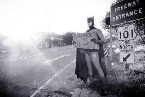 Bat-Hitch Hiker