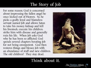 Killing children in the bible: no biggie.