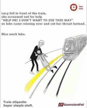 Proper Train Etiquette