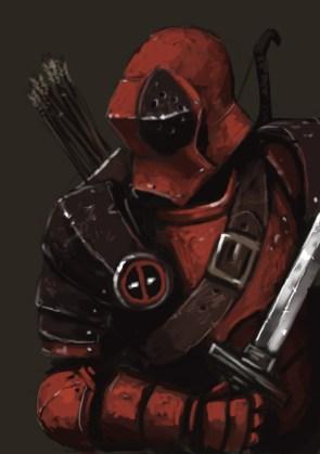Deadpool The Knight.