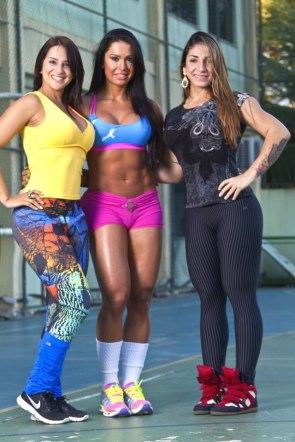 muscular chicks