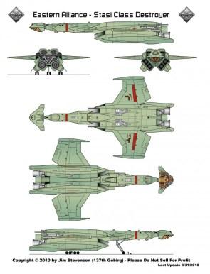 Eastern Alliance Destroyer