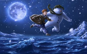 The Snowman – link and wallpaper