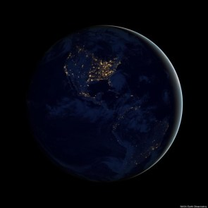 Stunning 'Black Marble' Images Of Earth From Space Released
