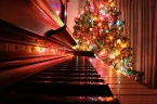 Piano and Christmas Tree