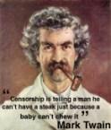 Twain on Censorship