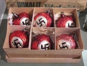 Nazi Christmas ornaments