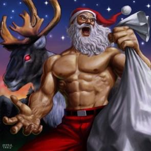 Santa by Matataku