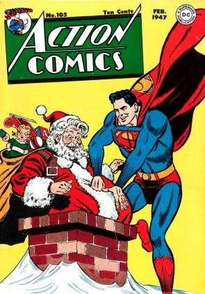 Santa's Helper Superman
