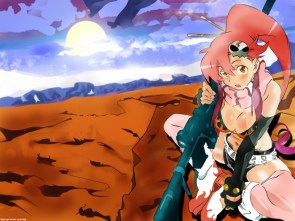 yoko in a desert