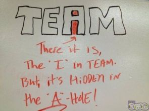 I team A hole