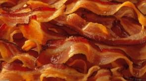bacon wall