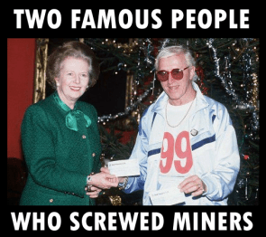 Thatcher and Savile