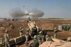marines fire gun