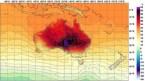 54°C / 129°F equals bright purple