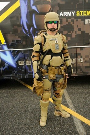 army battle suit