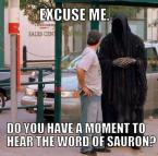 What would Sauron do?
