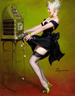 Gil Elvgren pin-up art