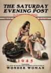 Wonder Woman on Saturday Evening Post