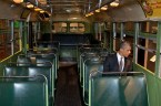 Obama on the bus