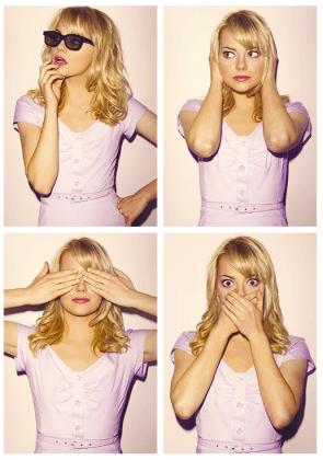 No evil Emma