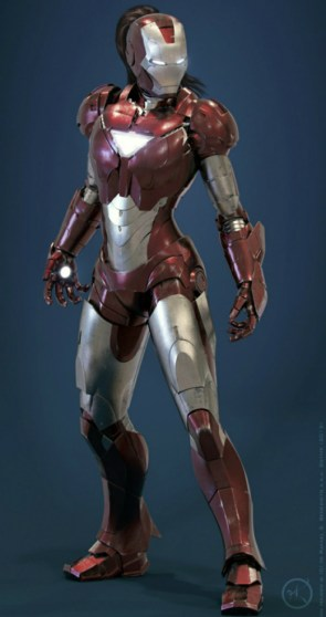 Iron Girl is Ready