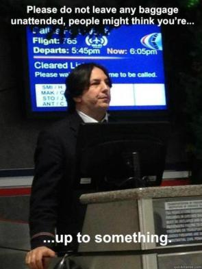Snape the airport guy
