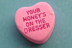 Candy hearts for sluts