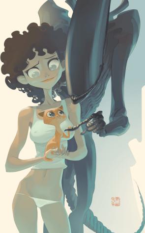 Ripley, Jones & Xeno