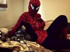 Semi-sexy Spider-chick