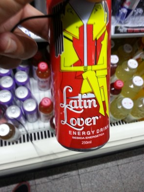 Latin Lover Energy Drink