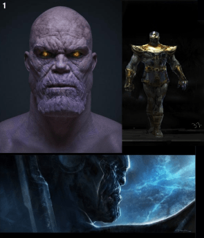 Thanos costume design