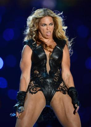 Beyonce Trained with Carrot Top
