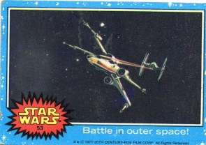 Vintage Star Wars Card