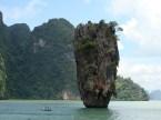 Mushroom Rock at James Bond Island