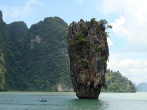 Mushroom Rock at James Bond Island