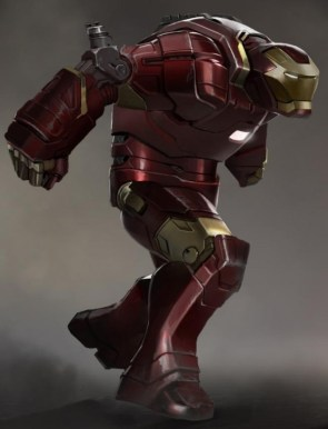 Iron Man 3 Hulkbuster concept art