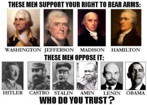 guns or dicktatorships