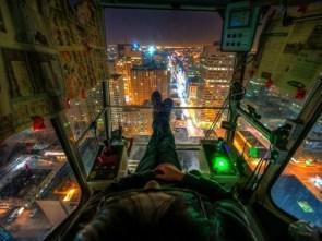 Crane Operator's View