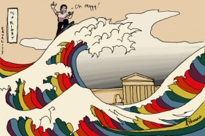 Takei Rides Rainbow Wave of Equality