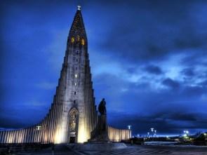 The Hallgrímskirkja Lutheran Church, Iceland